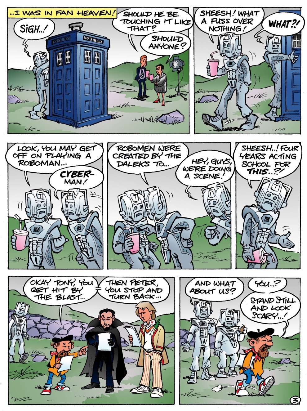 Colour Cyberman No.3 3.3